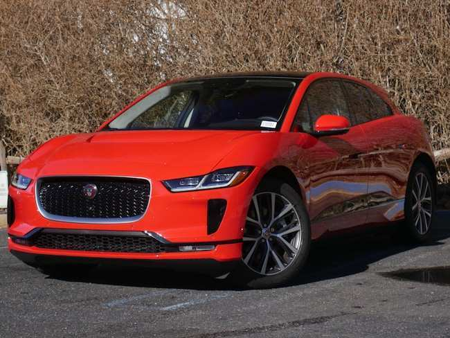 28 The 2019 Jaguar I Pace First Edition Exterior with 2019 Jaguar I Pace First Edition
