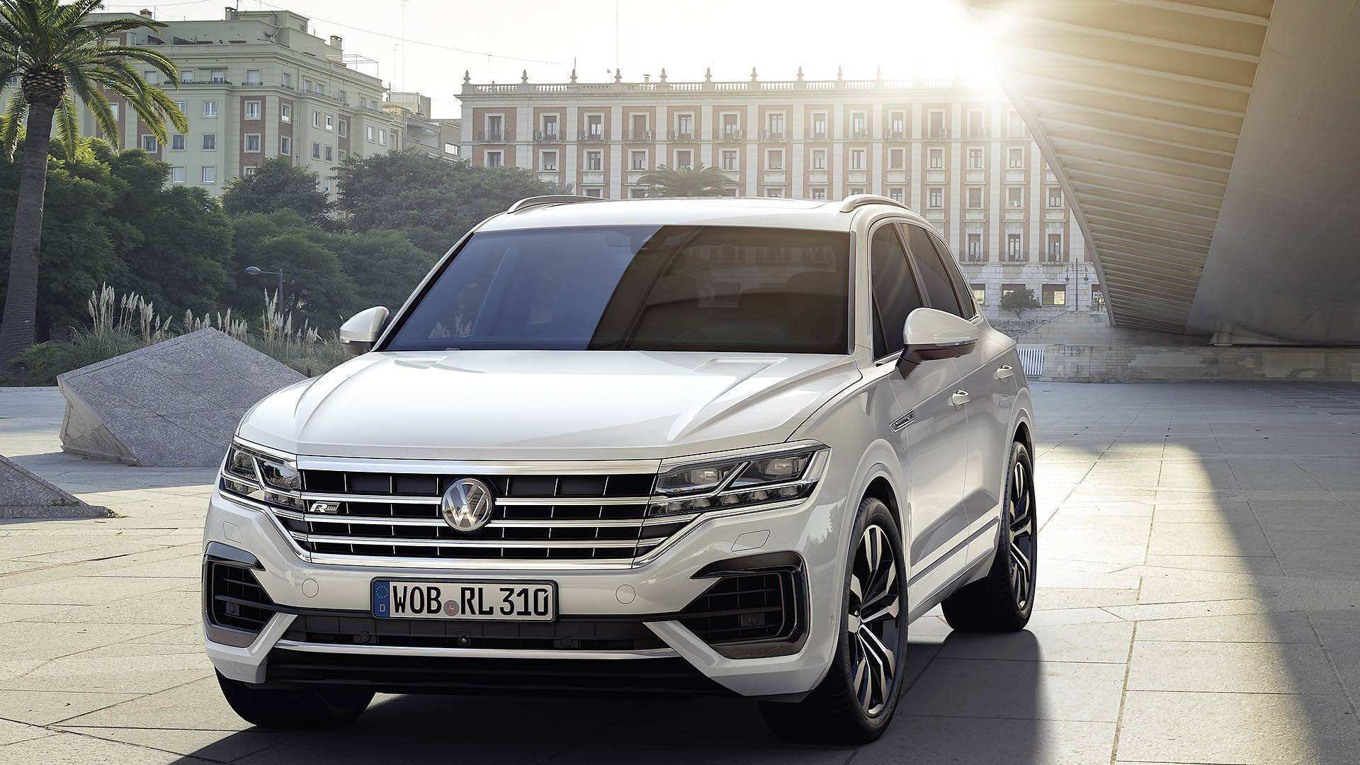 30 Best Review Touareg Vw 2019 Spy Shoot for Touareg Vw 2019