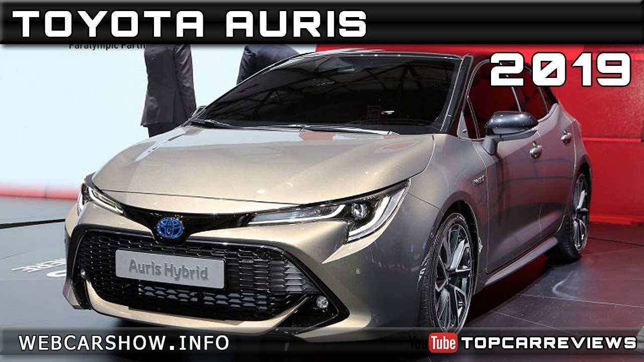 32 New Toyota Auris 2019 Release Date Rumors with Toyota Auris 2019 Release Date