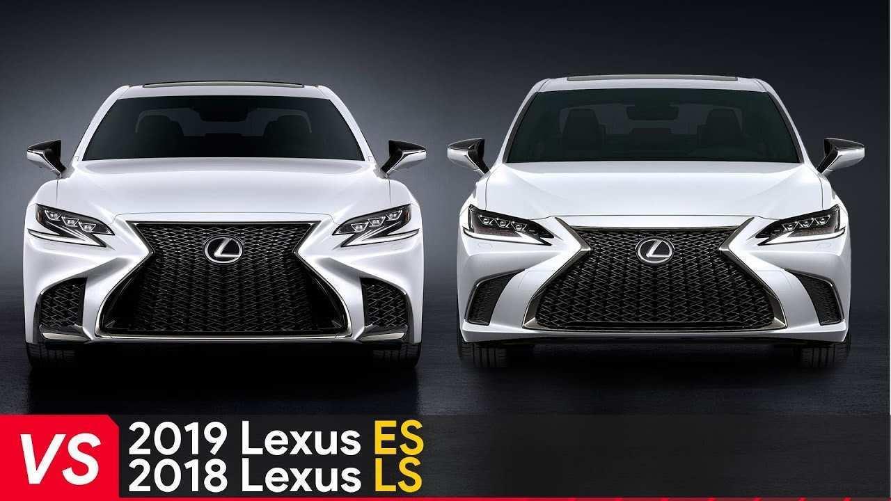 35 All New Lexus Es 2019 Vs 2018 Exterior by Lexus Es 2019 Vs 2018