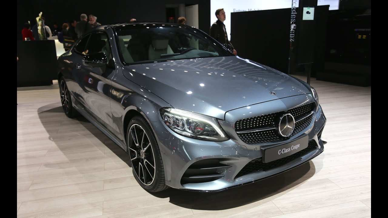 35 Best Review Mercedes C Class Coupe 2019 Redesign for Mercedes C Class Coupe 2019