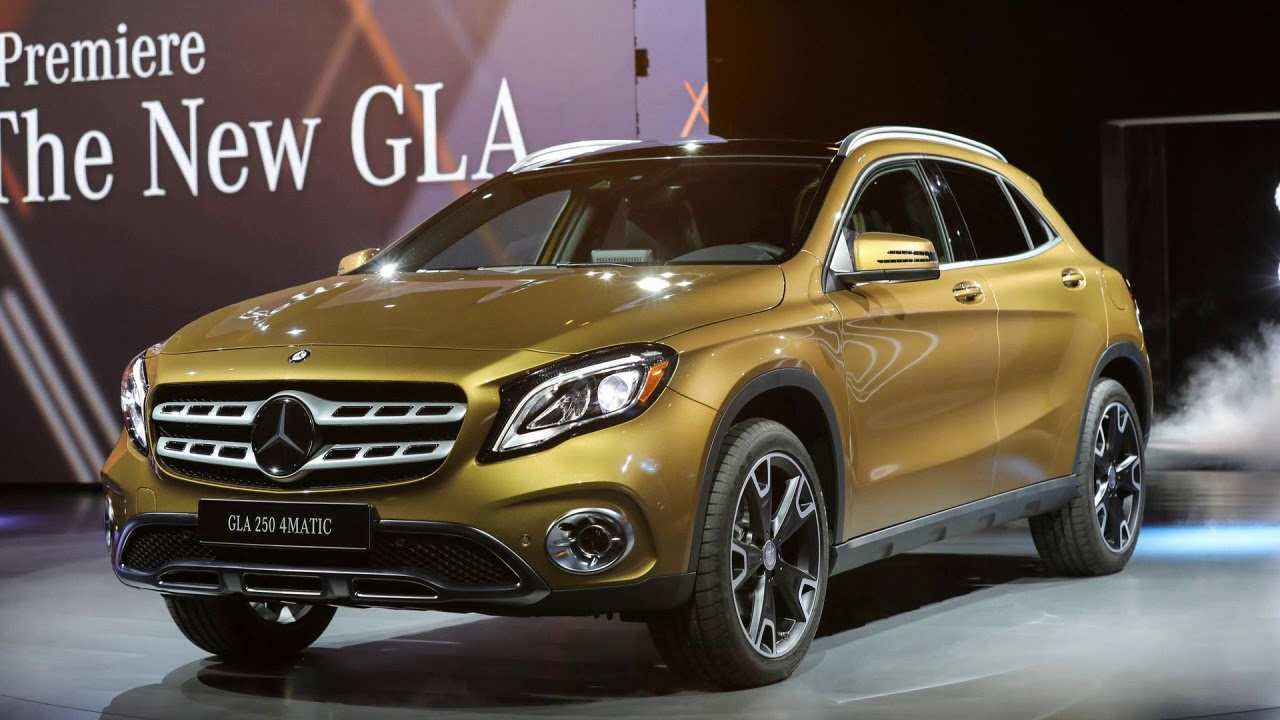 35 Concept of 2019 Mercedes Benz Gla Exterior and Interior by 2019 Mercedes Benz Gla
