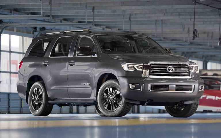 35 Great 2019 Toyota Sequoia Redesign Redesign with 2019 Toyota Sequoia Redesign