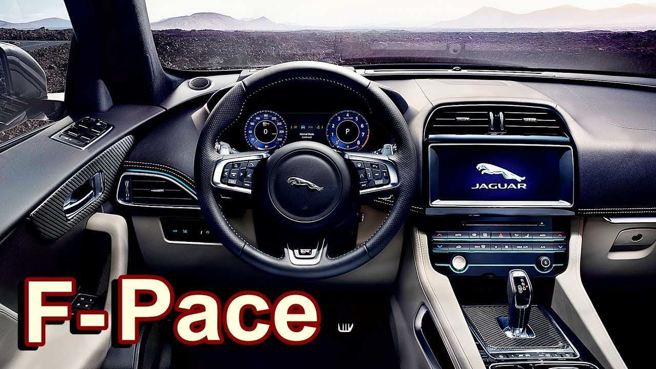 39 All New Jaguar F Pace 2019 Interior Specs with Jaguar F Pace 2019 Interior