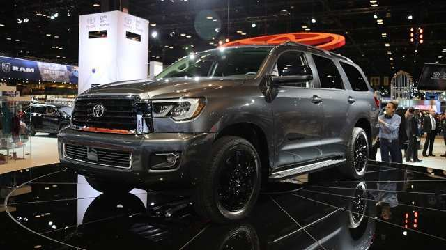 45 All New 2019 Toyota Sequoia Redesign Interior with 2019 Toyota Sequoia Redesign