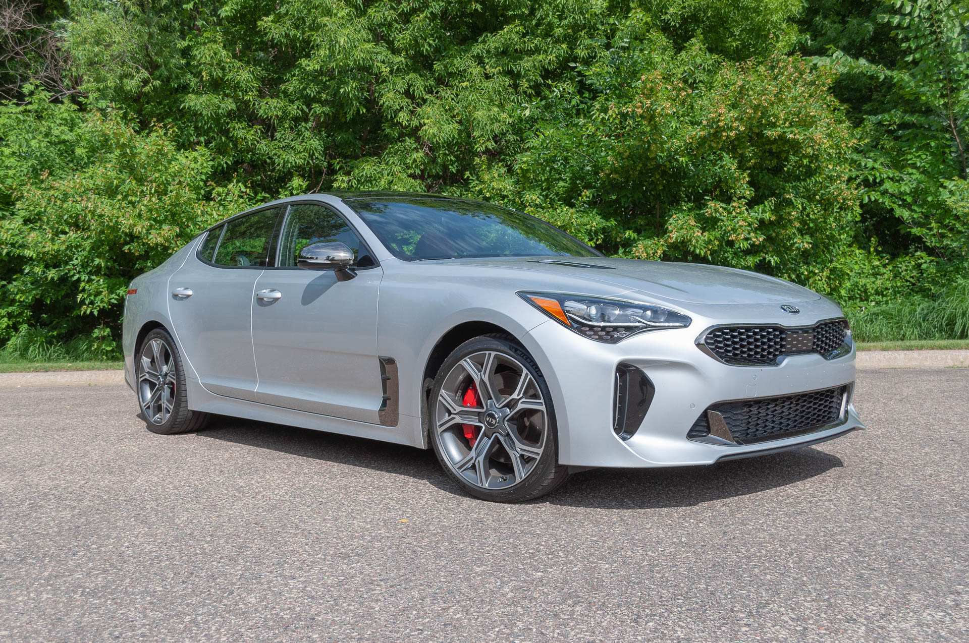 46 All New 2019 Kia Stinger Gt2 Spy Shoot with 2019 Kia Stinger Gt2