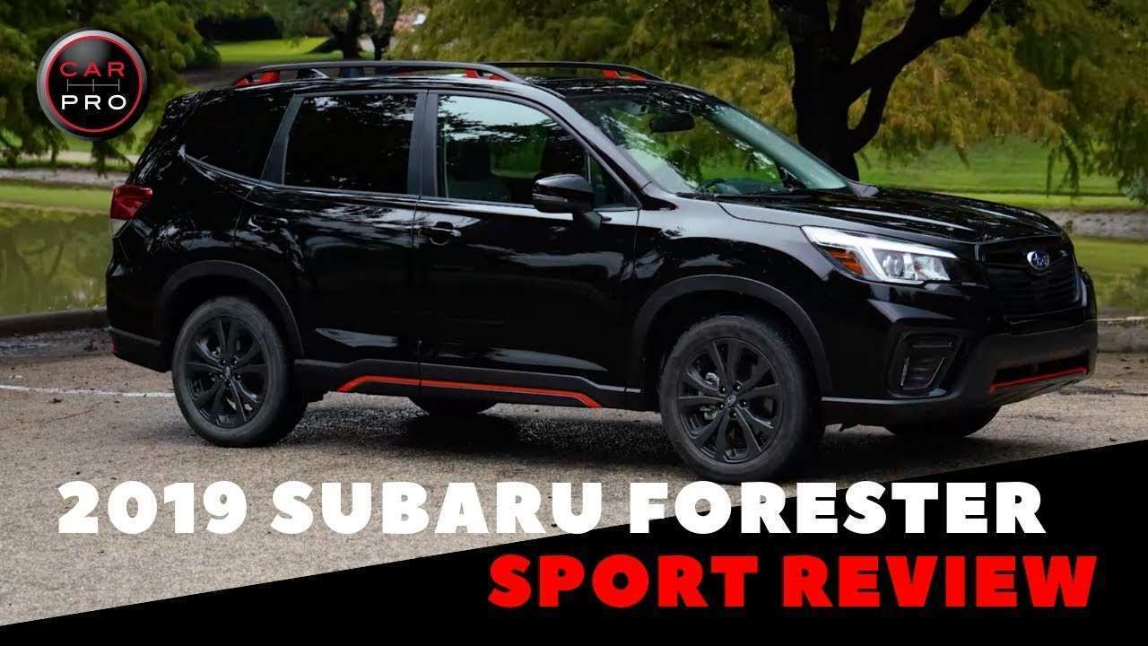 47 Best Review Subaru Sport 2019 Redesign and Concept for Subaru Sport 2019