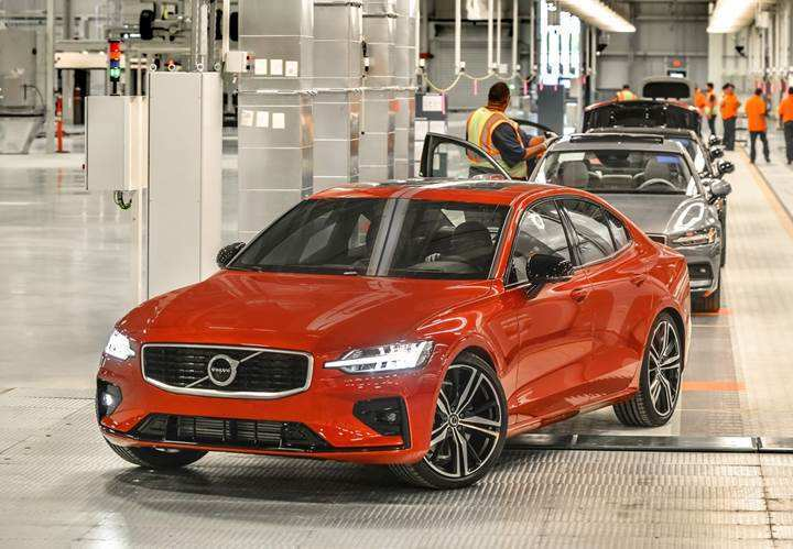 49 The Volvo S60 2019 Hybrid Redesign and Concept with Volvo S60 2019 Hybrid