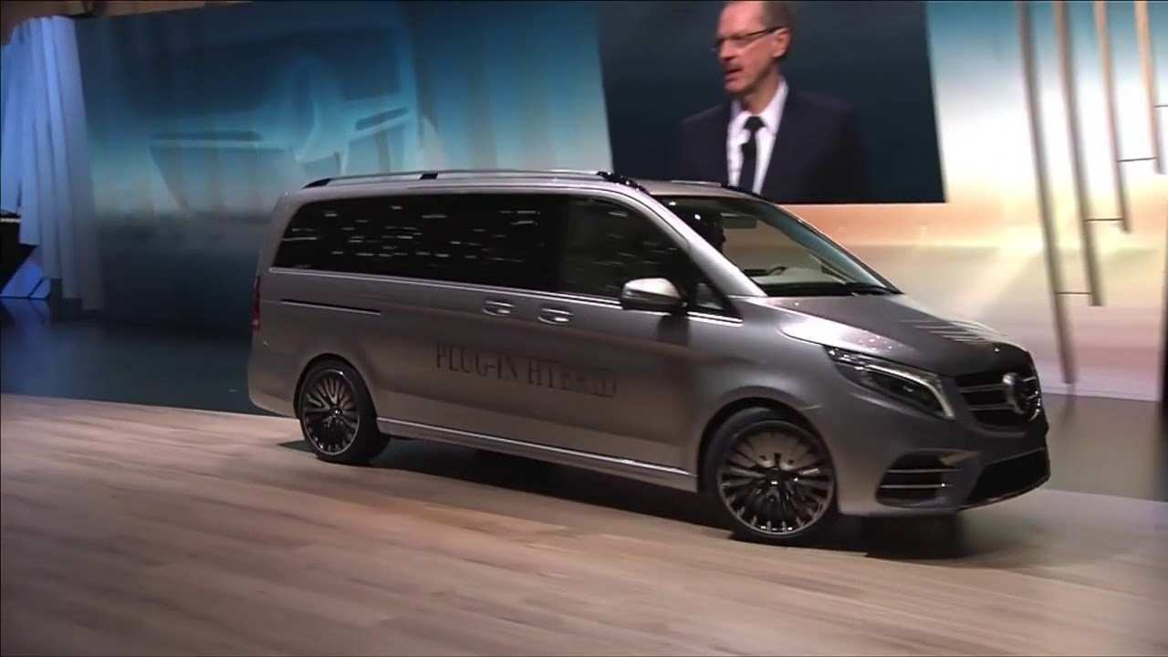 52 Best Review Mercedes V Klasse 2019 Redesign and Concept with Mercedes V Klasse 2019