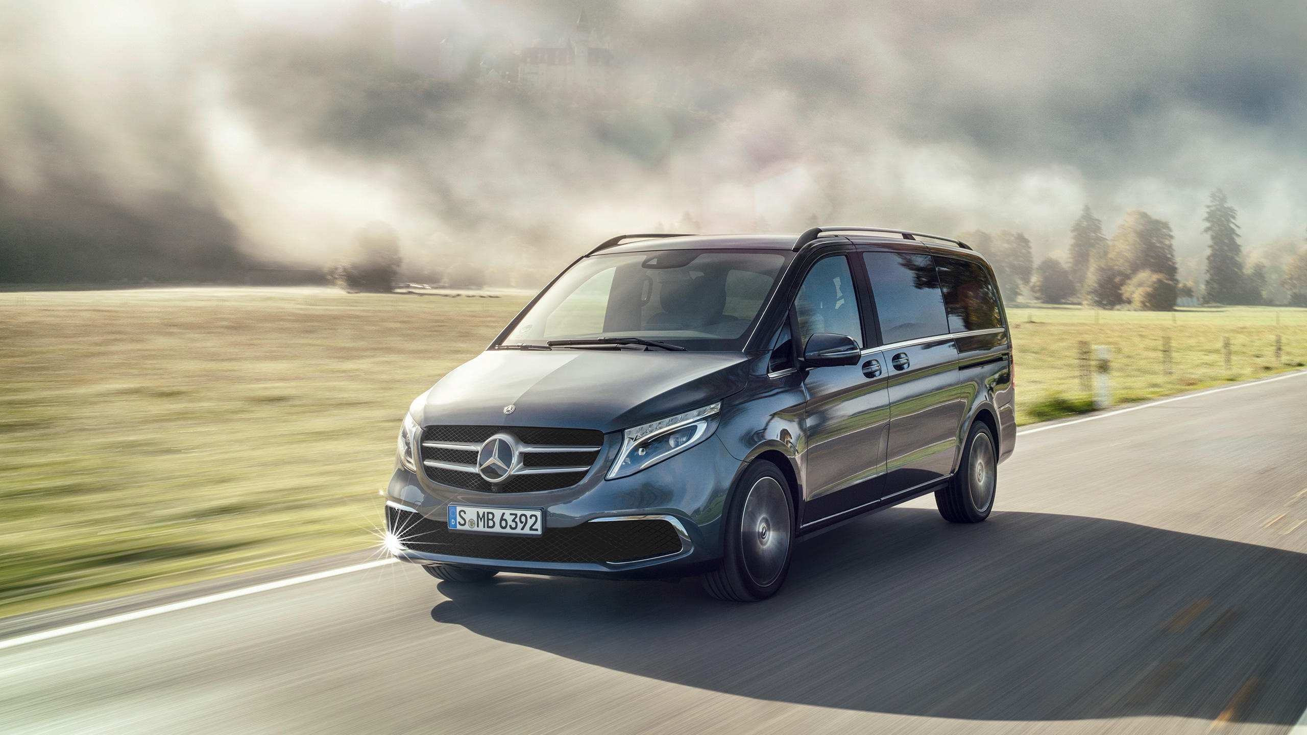 55 All New Mercedes V Klasse 2019 First Drive by Mercedes V Klasse 2019