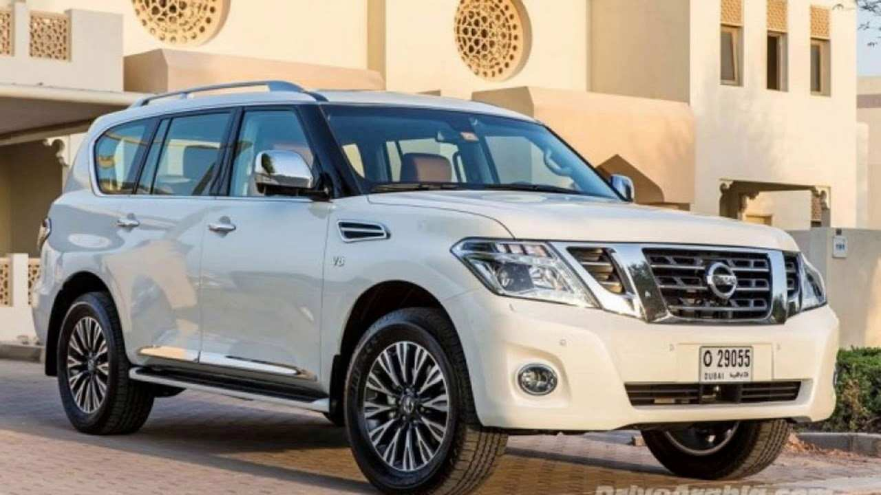 58 Concept of New Nissan Patrol 2019 Picture for New Nissan Patrol 2019