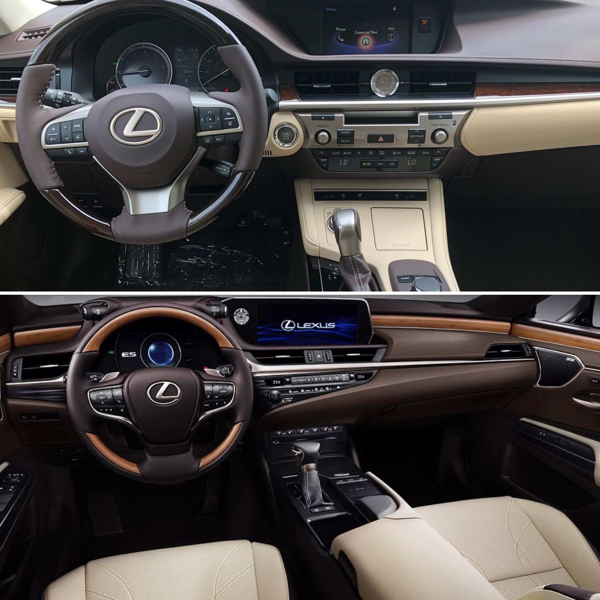 59 The Lexus Es 2019 Vs 2018 New Review for Lexus Es 2019 Vs 2018
