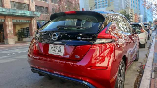 60 All New 2019 Nissan Leaf Review Exterior and Interior for 2019 Nissan Leaf Review