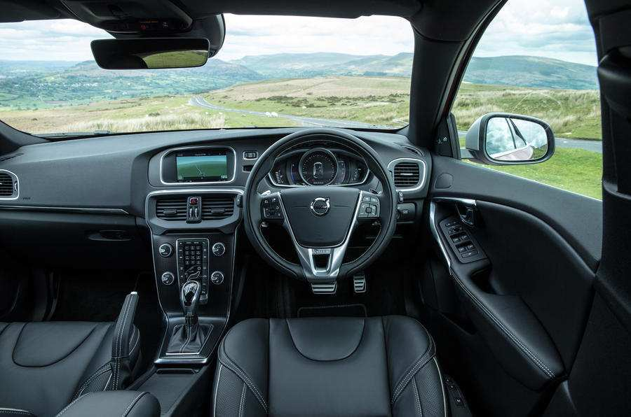 61 All New Volvo V40 2019 Interior New Review by Volvo V40 2019 Interior