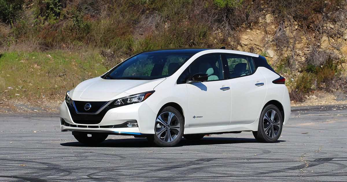 66 Best Review 2019 Nissan Leaf Review Redesign and Concept by 2019 Nissan Leaf Review