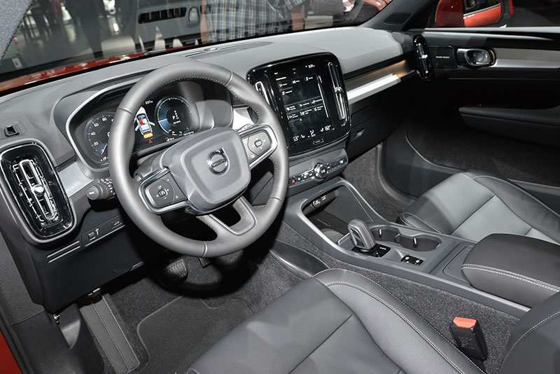 68 The 2019 Volvo Xc40 Interior Images with 2019 Volvo Xc40 Interior