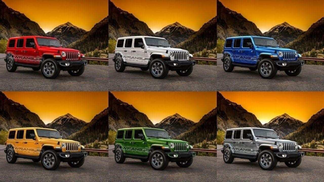 73 Concept of 2019 Jeep Jl Colors Specs by 2019 Jeep Jl Colors