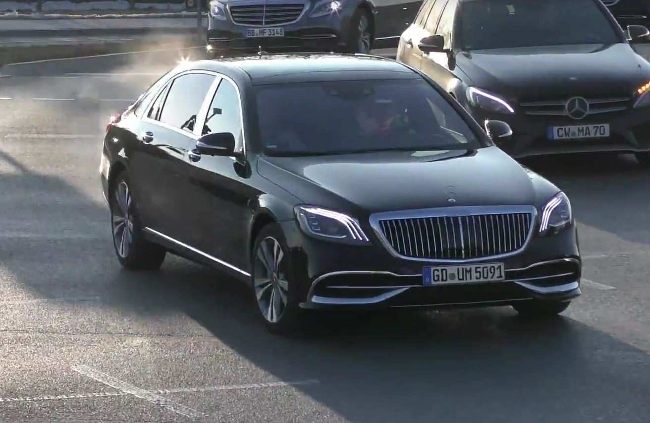 73 Concept of Mercedes S650 Maybach 2019 Spy Shoot for Mercedes S650 Maybach 2019