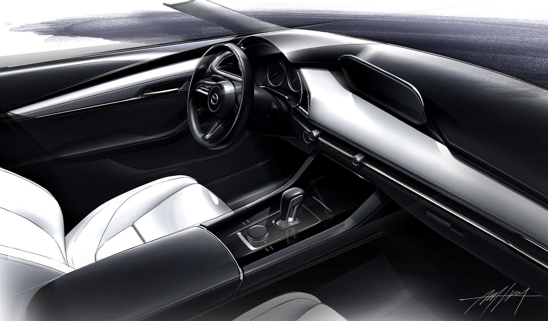 73 New Mazda 3 2019 Interior New Concept with Mazda 3 2019 Interior