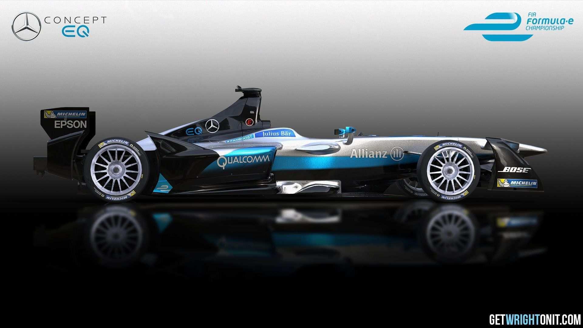 77 Concept of Mercedes Formula E 2019 Concept with Mercedes Formula E 2019