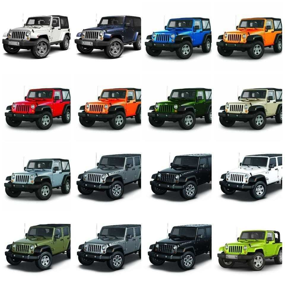 79 Gallery of 2019 Jeep Jl Colors New Concept by 2019 Jeep Jl Colors