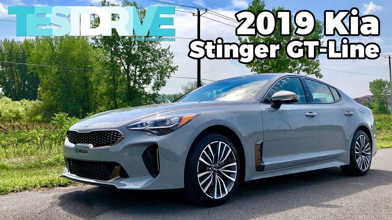 80 New 2019 Kia Gt Stinger Interior by 2019 Kia Gt Stinger