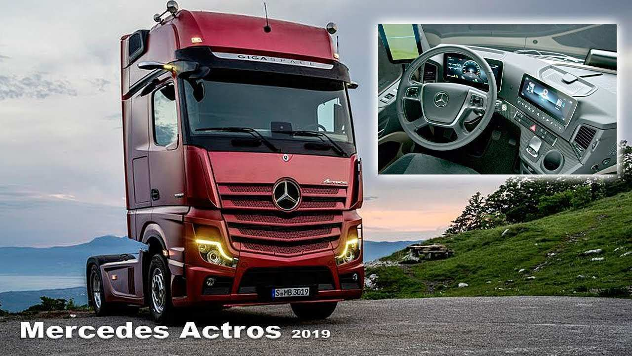 82 Concept of Mercedes Truck 2019 Redesign and Concept with Mercedes Truck 2019