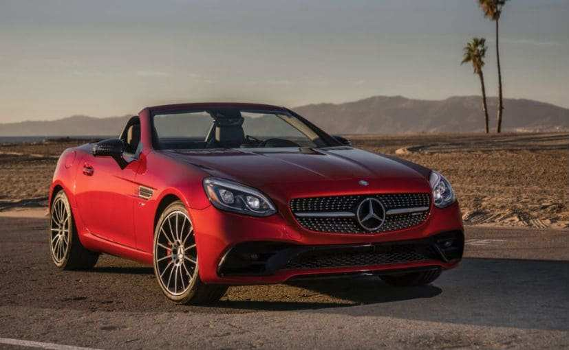84 Concept of Mercedes Slc 2019 Photos for Mercedes Slc 2019