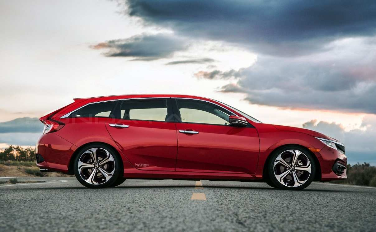 85 Gallery of 2019 Honda Wagon Concept for 2019 Honda Wagon