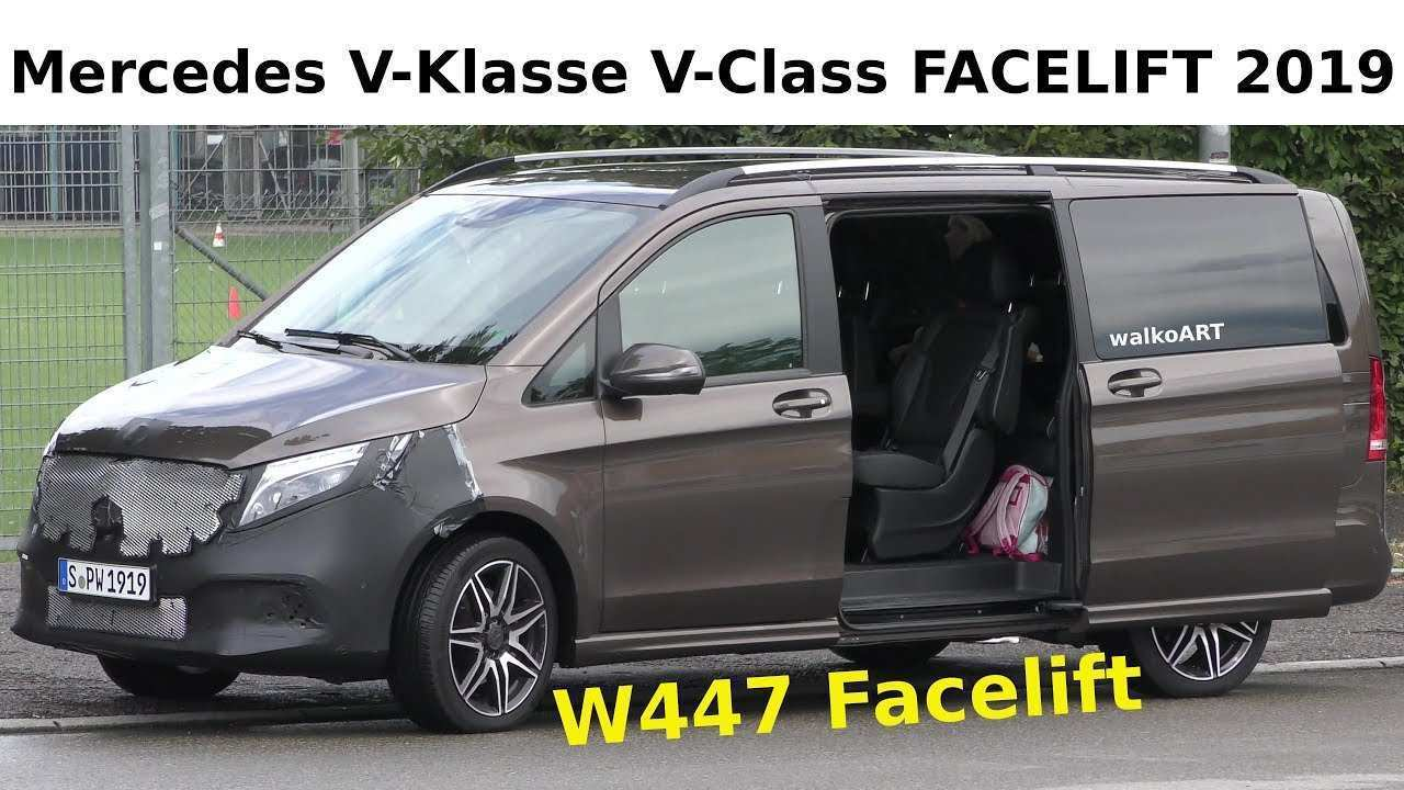 86 New Mercedes V Klasse 2019 Speed Test for Mercedes V Klasse 2019