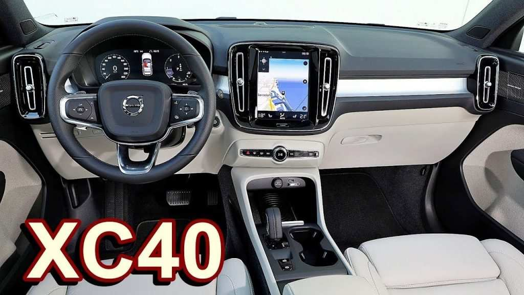 87 Great 2019 Volvo Xc40 Interior Model with 2019 Volvo Xc40 Interior