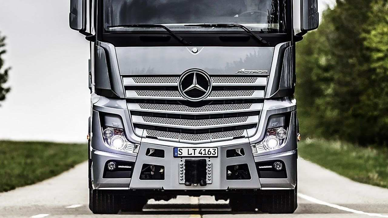 99 All New Mercedes Truck 2019 New Concept for Mercedes Truck 2019