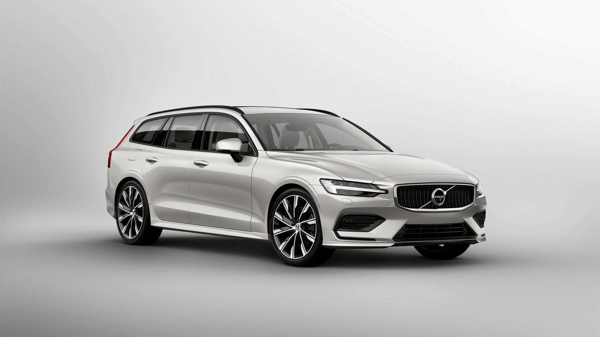 11 All New Volvo V60 2019 Dimensions Spy Shoot by Volvo V60 2019 Dimensions