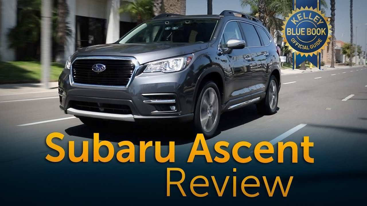 11 Great New 2019 Subaru Ascent Kbb Interior Redesign and Concept by New 2019 Subaru Ascent Kbb Interior