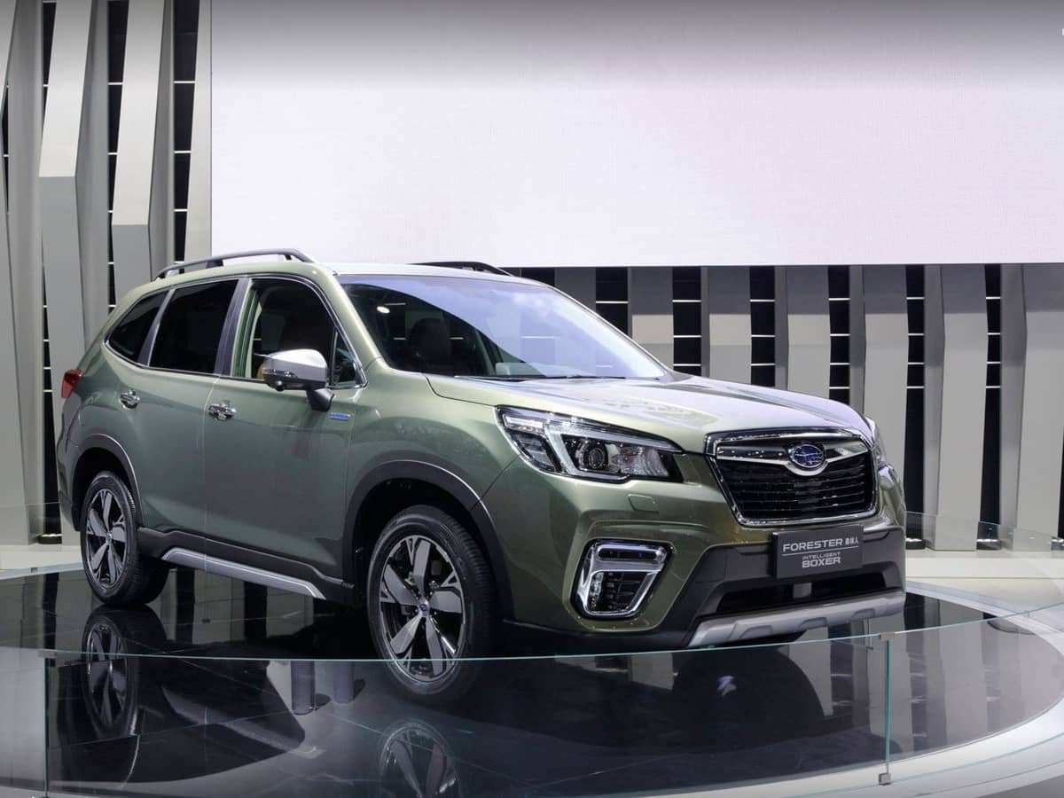11 The Subaru Forester 2019 Hybrid New Concept with Subaru Forester 2019 Hybrid