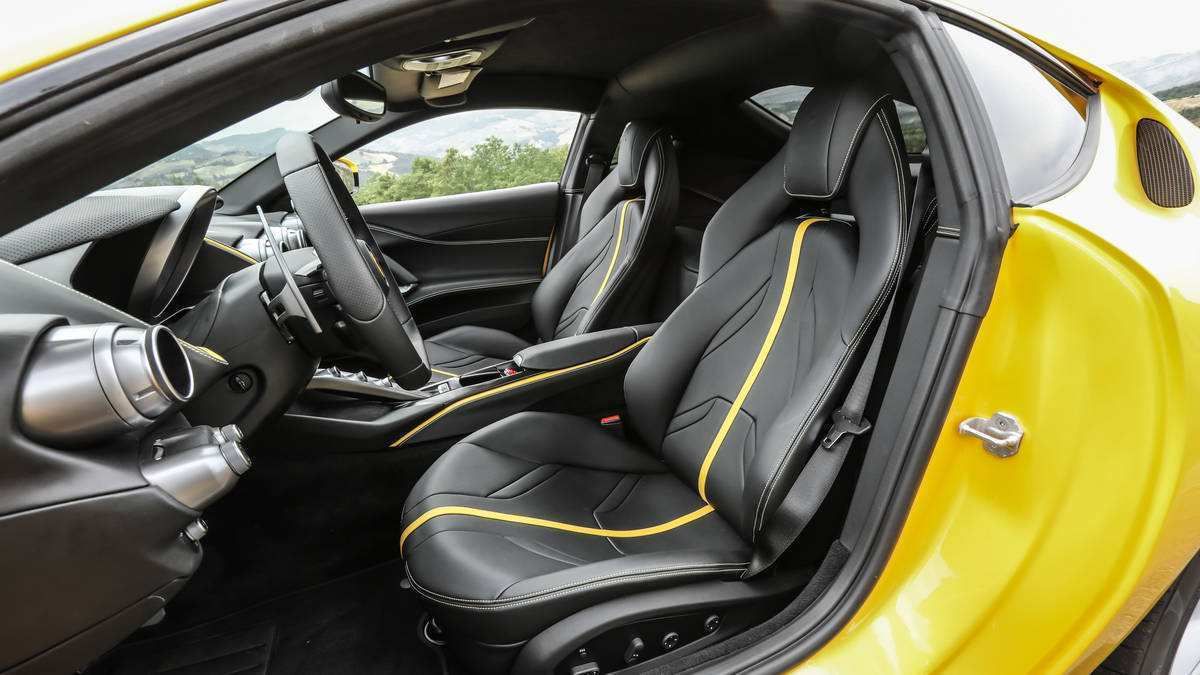 13 All New 2019 Ferrari Superfast Interior Spy Shoot with 2019 Ferrari Superfast Interior