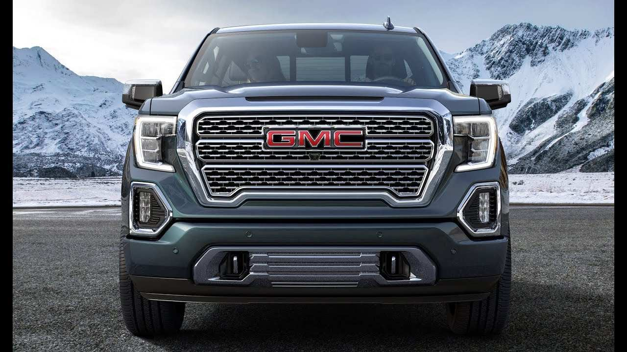 13 All New New Release Of 2019 Gmc Sierra Redesign Spy Shoot by New Release Of 2019 Gmc Sierra Redesign