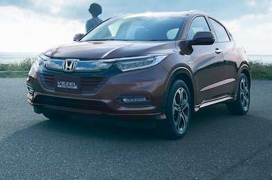 13 The The Honda Hrv 2019 Canada Spy Shoot Research New for The Honda Hrv 2019 Canada Spy Shoot