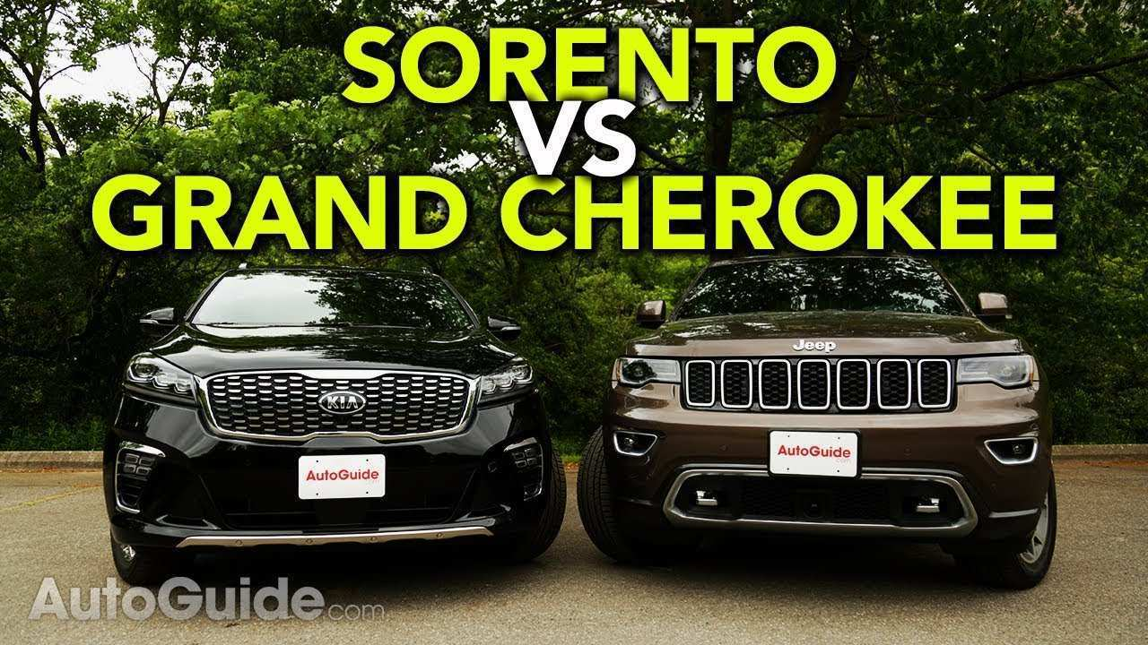 14 All New The 2019 Jeep Cherokee Vs Kia Sorento New Review Pricing for The 2019 Jeep Cherokee Vs Kia Sorento New Review