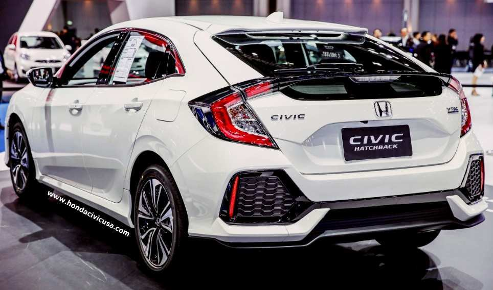 14 The New 2019 Honda Civic Hatchback Specs And Review Rumors for New 2019 Honda Civic Hatchback Specs And Review