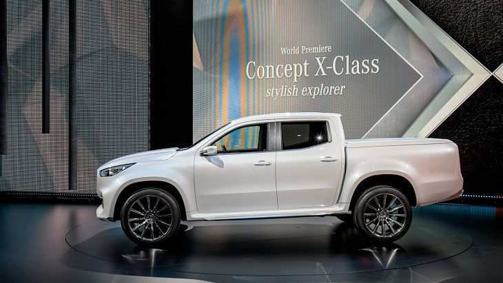 16 The 2019 Mercedes X Class Pickup Truck Release Date Performance for 2019 Mercedes X Class Pickup Truck Release Date