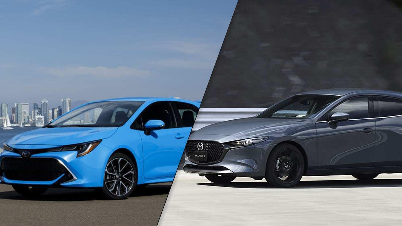 17 Best Review New 2019 Corolla Hatchback Vs Mazda 3 Specs Engine with New 2019 Corolla Hatchback Vs Mazda 3 Specs