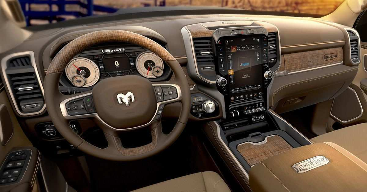 20 The 2019 Dodge Ram Interior Redesign Reviews by 2019 Dodge Ram Interior Redesign
