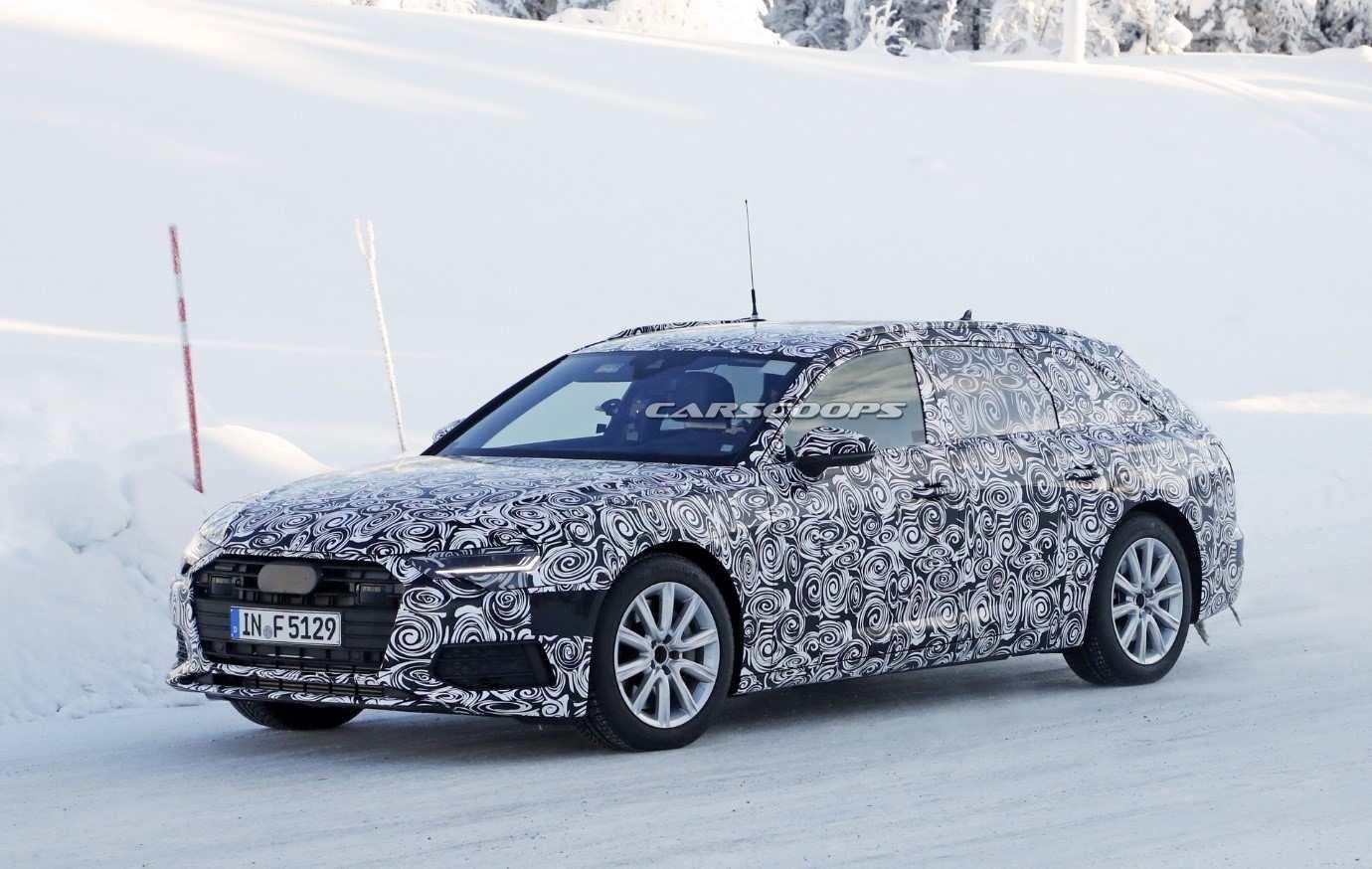 21 Gallery of New Audi A6 2019 Interior Spy Shoot Performance and New Engine for New Audi A6 2019 Interior Spy Shoot