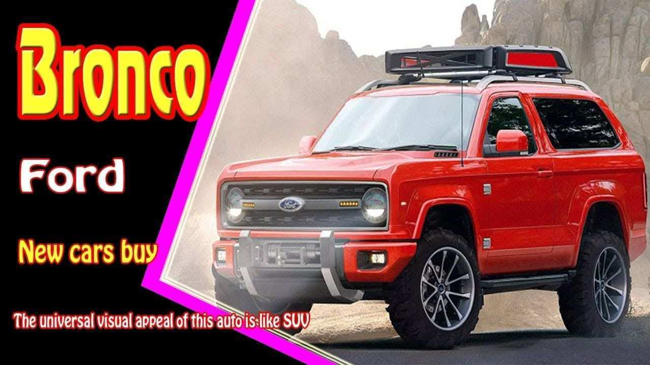 22 Best Review The 2019 Ford Bronco Interior Review Photos with The 2019 Ford Bronco Interior Review