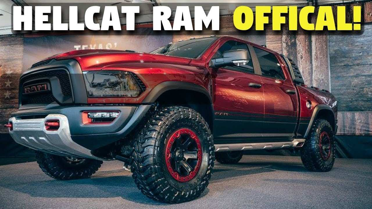 22 Concept of Best 2019 Dodge Hellcat Truck Engine Redesign and Concept for Best 2019 Dodge Hellcat Truck Engine