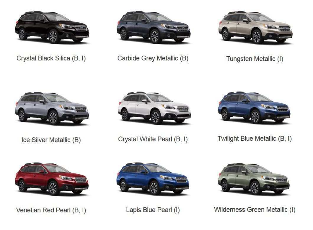 23 New Subaru 2019 Exterior Colors Review Performance with Subaru 2019 Exterior Colors Review