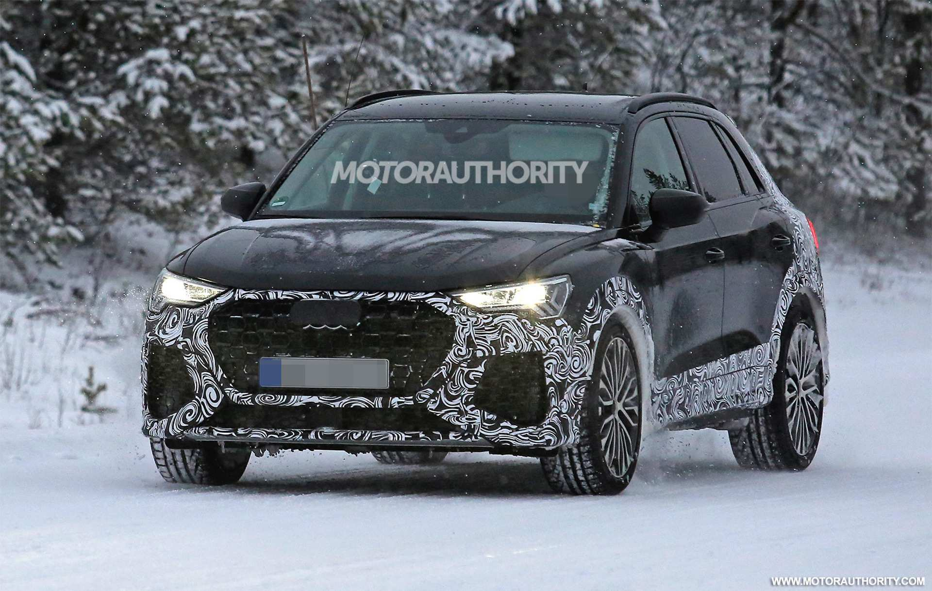 25 The New Audi Q 2019 Spy Shoot Configurations with New Audi Q 2019 Spy Shoot
