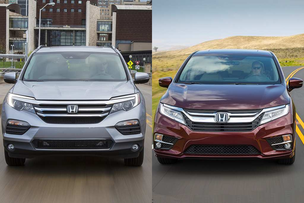 26 Great The 2018 Vs 2019 Honda Pilot Price And Review New Review with The 2018 Vs 2019 Honda Pilot Price And Review