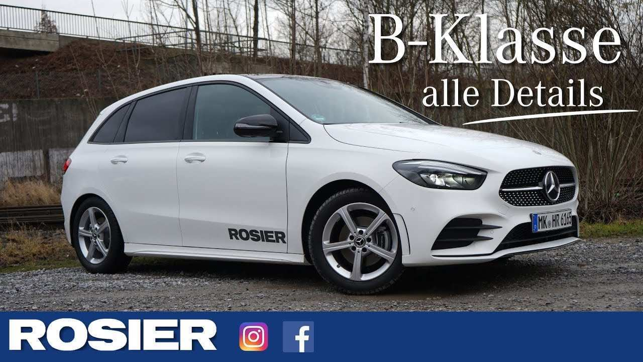 27 All New Best Mercedes Benz B Klasse 2019 Interior Exterior And Review Exterior for Best Mercedes Benz B Klasse 2019 Interior Exterior And Review
